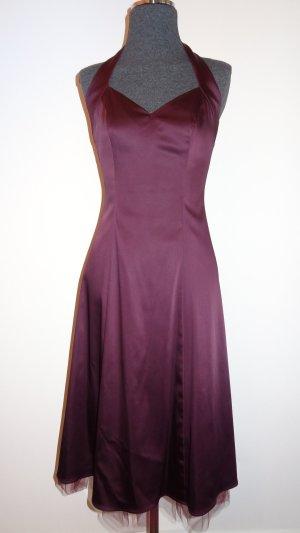 Jake's Neckholder-Kleid violett, Gr. 34