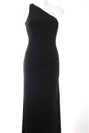 Jake*s One-Shoulder-Kleid schwarz Elegant
