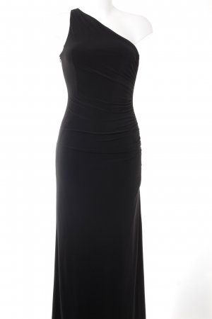 Jake*s One-Shoulder-Kleid schwarz Elegant