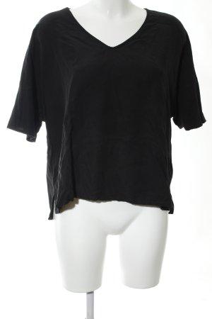 Jake*s Oversized Shirt schwarz Business-Look