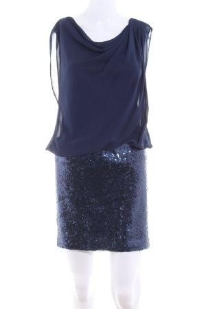 Jake*s Vestido de lentejuelas azul oscuro estilo fiesta