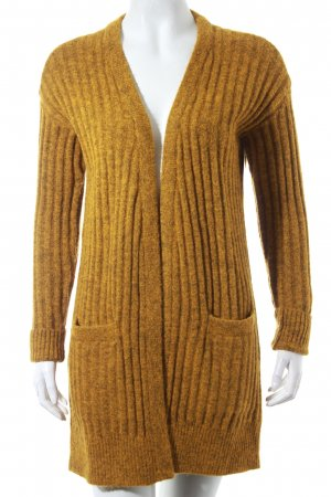 Jake*s Strick Cardigan ocker meliert Kuschel-Optik