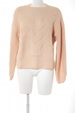 Jake*s Strickpullover apricot-nude Webmuster Casual-Look
