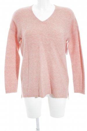 Jake*s Strickpullover apricot-rosa Casual-Look