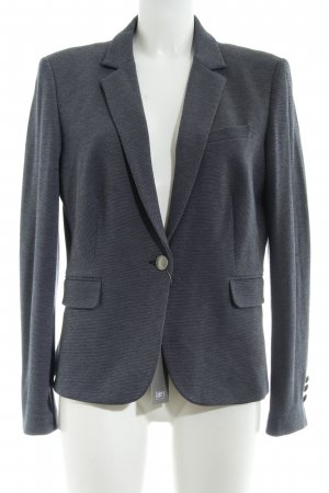 Jake*s Blazer sweat blu scuro-grigio stile professionale