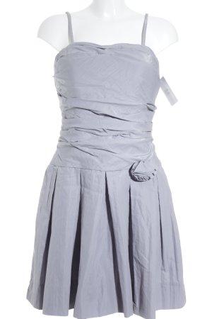 Jake*s Trägerkleid grau-silberfarben Elegant