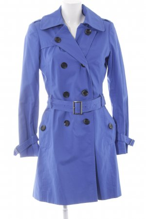 Jake*s Trenchcoat blau Casual-Look
