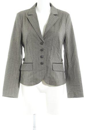 Jake*s Tweed blazer groen-grijs-grijs-bruin krijtstreep Britse uitstraling