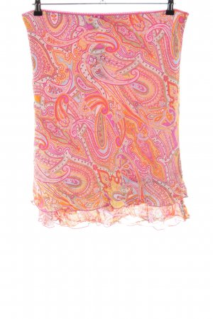 Jake*s Flounce Skirt abstract pattern street-fashion look
