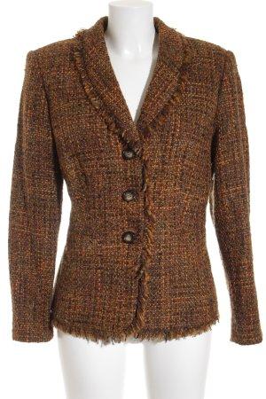 Jake*s Veste en laine Motif de tissage style des années 80