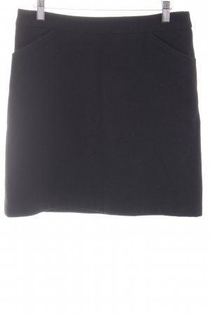 Jake*s Wollen rok zwart casual uitstraling