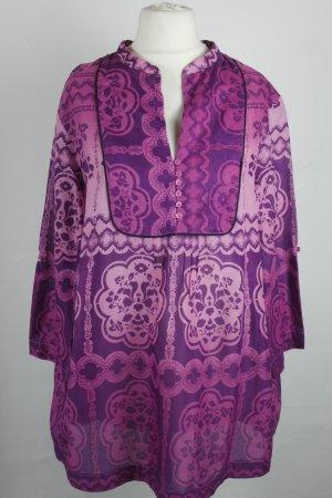 Jakes Bluse Tunika Gr. 46 pink lila oversized ethno