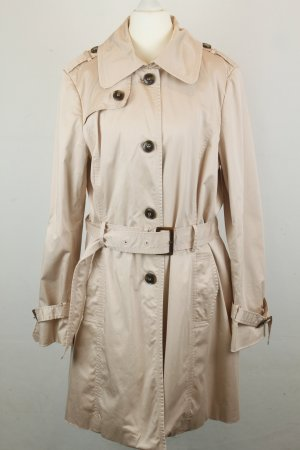 Jakes Mantel Trenchcoat Gr. 44 rosa mit Taillengürtel