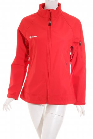 Jako Softshell Jacket red casual look