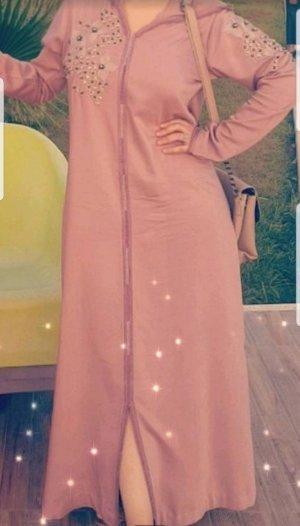 Caftano color oro rosa-grigio chiaro