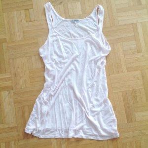James Perse Longtop Longshirt Rosa Baumwolle Top Yoga Wear S M