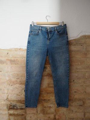Topshop Petite Skinny jeans blauw-azuur