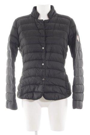 Jan Mayen Donsjack zwart quilten patroon straat-mode uitstraling