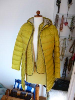 Jan Mayen Piumino lungo giallo lime