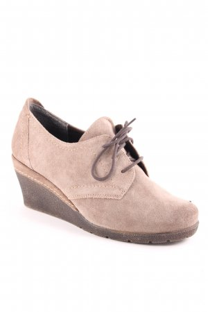 Jana Ankle Boots hellbraun Casual-Look