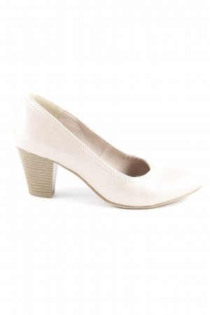 Jana High Heels hellbeige Casual-Look
