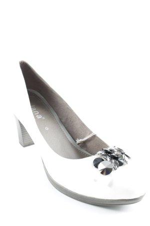 Jana High Heels weiß Elegant