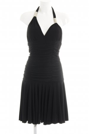 Jane Abendkleid schwarz-silberfarben Elegant