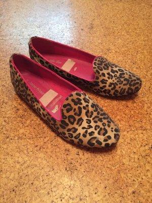 Jane Klain Peep Toe Ballerinas multicolored