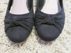 Jane Klain Ballerinas black