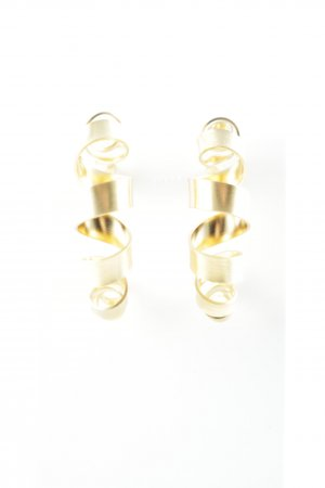 Jane Koenig Ear Hoops gold-colored elegant