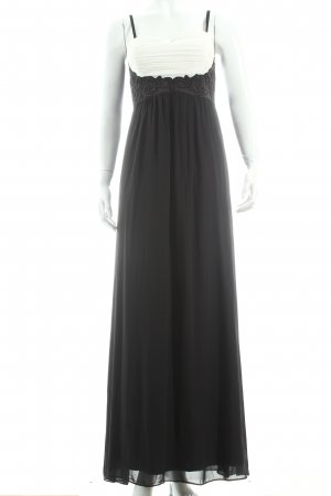 Jane norman Abendkleid schwarz-creme Eleganz-Look