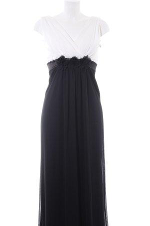 Jane norman Abendkleid weiß-schwarz Elegant