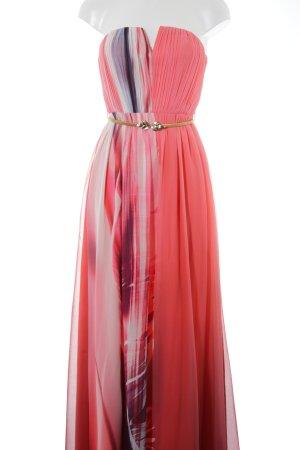 505e0d24858743 Jane norman Bandeaujurk zwart-roze extravagante stijl