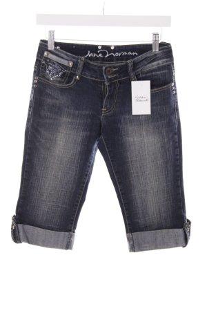 Jane norman Jeans dunkelblau Glitzersteinverzierung