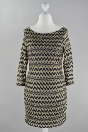 Jane norman Kleid schwarz gold Größe M
