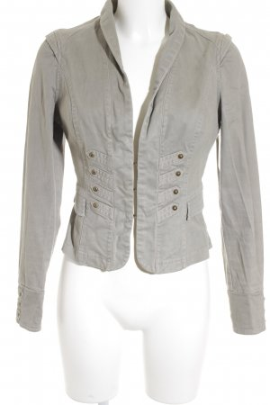 Jane norman Short Jacket grey brown Patch pockets