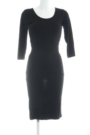 Jane norman Langarmkleid schwarz Elegant