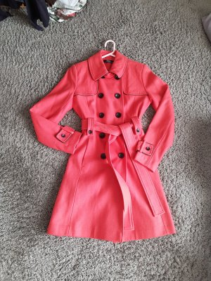jane norman Mantel Trenchcoat Lachs Apricot Gr. 36/38
