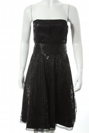 Jane norman schulterfreies Kleid schwarz Party-Look