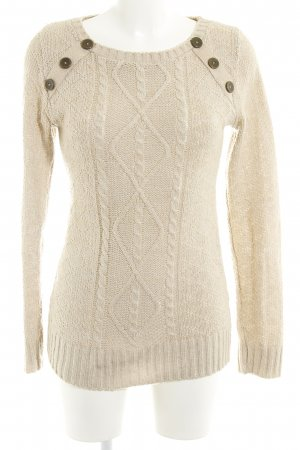 Jane norman Knitted Sweater beige casual look
