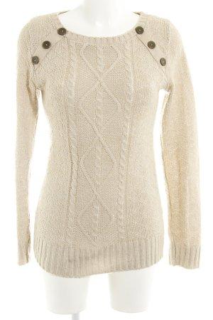 Jane norman Strickpullover beige Casual-Look