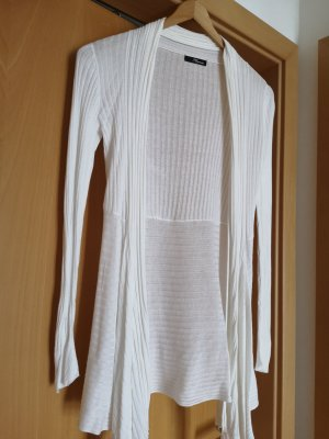 Jane norman Long Knitted Vest white