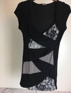 Jane Norman Top Shirt schwarz elegant