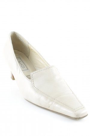 Janet D High Heels creme Casual-Look