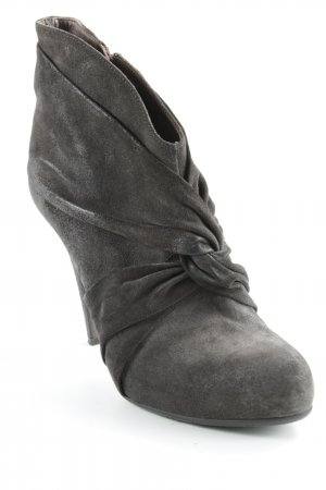 Janet & Janet Booties dunkelbraun Street-Fashion-Look