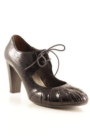 Janet & Janet Loafers zwart elegant