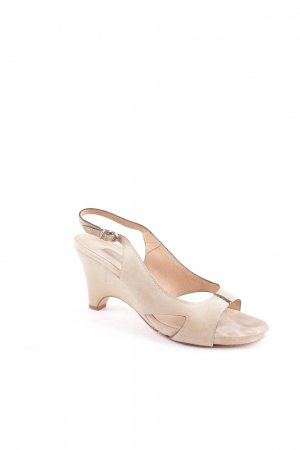 "Janet & Janet Wedges Sandaletten ""Sandalo Pisa"" beige"