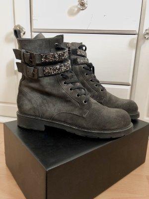 Janet Sports Designer Stiefeletten Boots Schuhe Stiefel Nieten