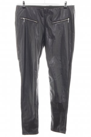 Janina Leather Trousers black casual look