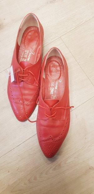 Budapest schoenen donkerrood